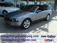 2007 Ford Mustang Convertible V6 Lthr
