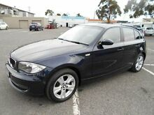 2008 BMW 118i E87 MY07 Upgrade Blue 6 Speed Automatic Hatchback Maidstone Maribyrnong Area Preview