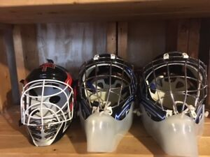 Goalie Masks for ground hockey - $10 each or all 3 for $20.