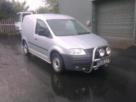 NO VAT 2010 60 reg Volkswagen Caddy 1.9TDI PD ( 104PS ) C20 (silver).. F S H