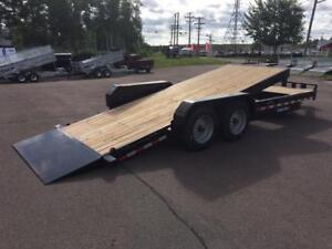 NEW 2018 SURE-TRAC 7' x 22' HD SPLIT TILT TRAILER (8 TON)