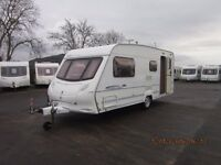 2004 ACE CELEBRATION 430 5 BERTH END WASHROOM WITH AWNING ANDERSON CARAVAN AND MOTORHOME SALES
