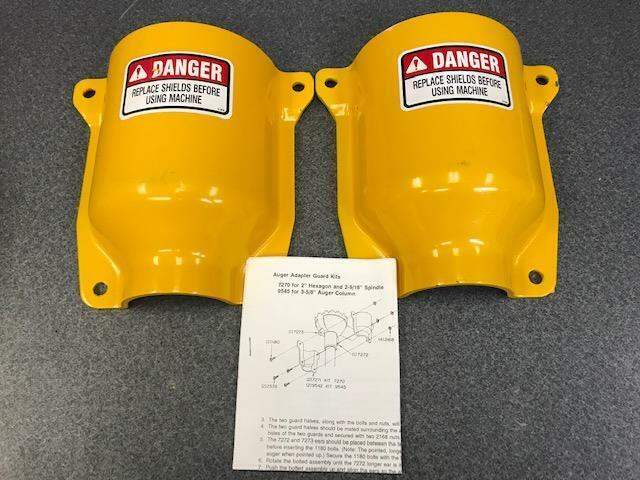 """Auger Adapter Guard Kits 7270 for 2"""" Hexagon & 2-9/16"""" Spindle, 9545 for 3-5/8"""""""