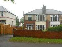 3 BEDROOM SEMI TO LET ON PRINCE OF WALES ROAD IN DARNALL £600 PER MONTH