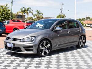 2014 Volkswagen Golf VII MY14 R DSG 4MOTION Grey 6 Speed Sports Automatic Dual Clutch Hatchback