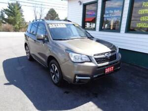 2017 Subaru Forester i Touring w/Tech Pkg only $225 bi-weekly!