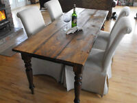 Modern / Rustic Wood Tables