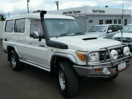 2007 Toyota Landcruiser VDJ78R GXL Troopcarrier French Vanilla 5 Speed Manual Wagon Atherton Tablelands Preview