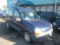 WHEEL CHAIR ACCESSABLE RENAULT KANGOO WITH ELECTRIC WINCH