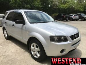 2007 Ford Territory SY MY07 Upgrade TX (RWD) Silver 4 Speed Auto Seq Sportshift Wagon Lisarow Gosford Area Preview