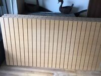 Beech veneer slatwall 8 by 4 sold in batch of 11 collection only Hilltown
