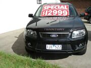 2009 Ford Territory SY Mkii TS RWD Black Metallic 4 Speed Sports Automatic Wagon West Footscray Maribyrnong Area Preview