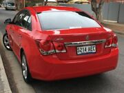 2009 Holden Cruze JG CDX Red 6 Speed Sports Automatic Sedan West Hindmarsh Charles Sturt Area Preview