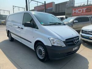 2013 Mercedes-Benz Vito 639 MY11 116CDI LWB White 5 Speed Automatic Van Granville Parramatta Area Preview