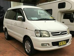 2000 Toyota Townace Noah Import White 4 Speed Auto Active Select Wagon Taren Point Sutherland Area Preview