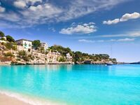 2 return flight tickets London - Palma De Mallorca, 24.Aug-29.Aug