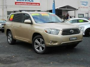 2007 Toyota Kluger GSU45R KX-S (4x4) Beige 5 Speed Automatic Wagon Tuggerah Wyong Area Preview