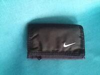 Official Nike Tri-Fold Wallet, Black.