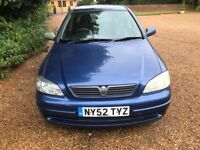 2003 AUTOMATIC VAUXHALL ASTRA 75000 MILES MOT TILL MARCH GOOD CONDITION DRIVES PERFECT NO FAULTS