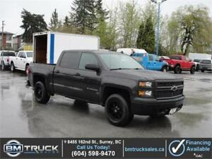 2014 CHEVROLET SILVERADO 1500 CREW CAB SHORT BOX 4X4 *LOW KM*