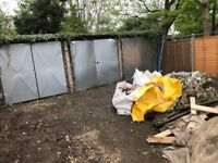A block of three garages to rent with private drive in Friern Park North Finchley N12
