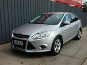 2012 Ford Focus LW MKII Trend PwrShift Silver 6 Speed Sports Automatic Dual Clutch Sedan Blair Athol Port Adelaide Area Preview