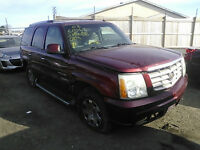 2003 CADILLAC ESCALADE LUXURY PARTS ON SALE!