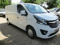 2015 Vauxhall Vivaro 1.6CDT 115PS Sportive 2900 L2H1 LWB 80000 MILES GUARANTEED