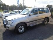 2003 Toyota Landcruiser UZJ100R GXL (4x4) Silver 5 Speed Automatic Wagon Sandgate Newcastle Area Preview