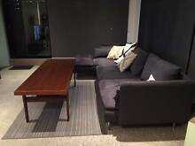 DANISH TEAK COFFEE TABLE WITH A SOLID SHELF Fitzroy Yarra Area Preview