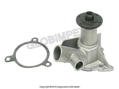 BMW E28 E30 (82-08/87) Water Pump w/ Gasket (Dual Outlet) metal impeller GRAF