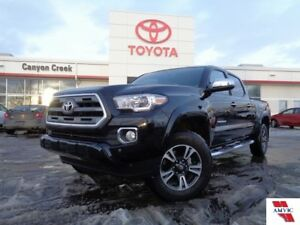 2016 Toyota Tacoma LIMITED V6 DOUBLE CAB  W/ BLINDSPOT MONITORIN