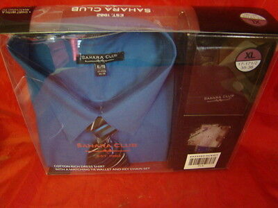 new mens navy blue dress shirt gift