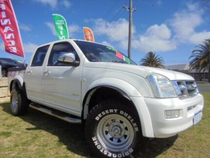 2004 Holden Rodeo RA LT Crew Cab White 4 Speed Automatic Utility