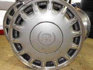 Cadillac Alloy Wheels x 4- mid 1990's