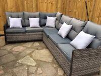 Outdoor Corner Sofa - new/still in packaging £285 o.n.o
