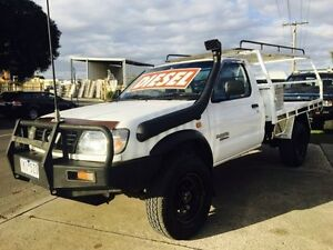 2001 Nissan Navara D22 DX (4x4) 5 Speed Manual 4x4 Cab Chassis Brooklyn Brimbank Area Preview