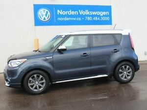 2014 Kia Soul SX FWD - HEATED LEATHER SEATS / REAR-VIEW CAMERA /