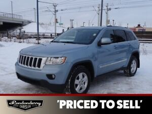 2013 Jeep Grand Cherokee 4WD LAREDO Accident Free,  A/C,