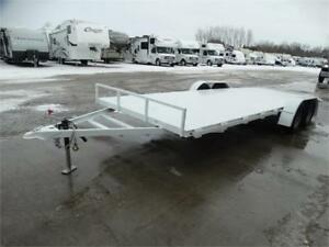 7x20 Flatbed Trailer