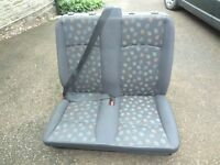 VITO 111 MERCEDES FRONT DOUBLE SEAT AND REAR SEAT
