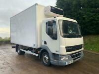2011 DAF LF 45.160 15ft6 fridge box with meat rails and carcass lift