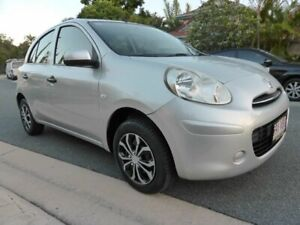2012 Nissan Micra K13 ST Silver 4 Speed Automatic Hatchback Southport Gold Coast City Preview