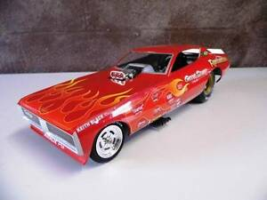 """Diecast 1971 Dodge Charger NHRA Funny Car """"Rambunctious"""" Westbury Meander Valley Preview"""