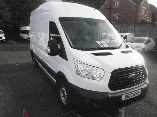 Ford Transit T350 LWB 2.2 Tdci 125Ps H3 Van DIESEL MANUAL WHITE (2015)
