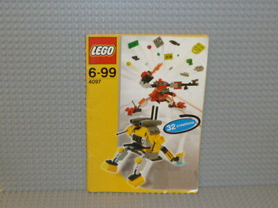 Designs Ideen-buch (LEGO® Creator Bauanleitung 4097 Designer Set Ideen Buch instruction B1657)