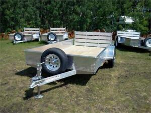 CHECK THIS OUT! - 2018 Aluminum Trailer 6.4' x 10' Canadian Made