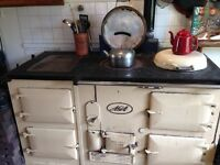 Aga 4 Oven solid fuel cooker in good working order.
