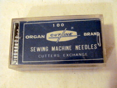 - 100 ORGAN BRAND CUT-LINE Sewing Machine Needles 29-18LSS FREE Ship!