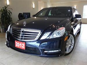 2012 Mercedes E550 4Matic AMG PKG|Distronic Plus
